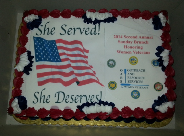 OARS Veterans Day Cake 2014