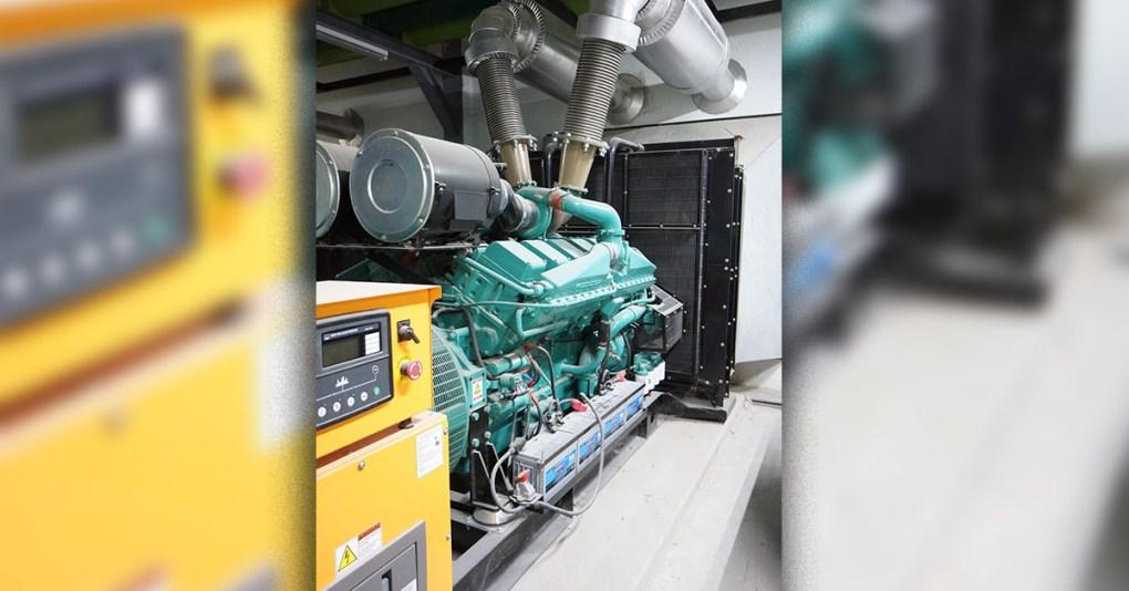 1000kVA เครื่องกำเนิดไฟฟ้า Calcomp elec 1