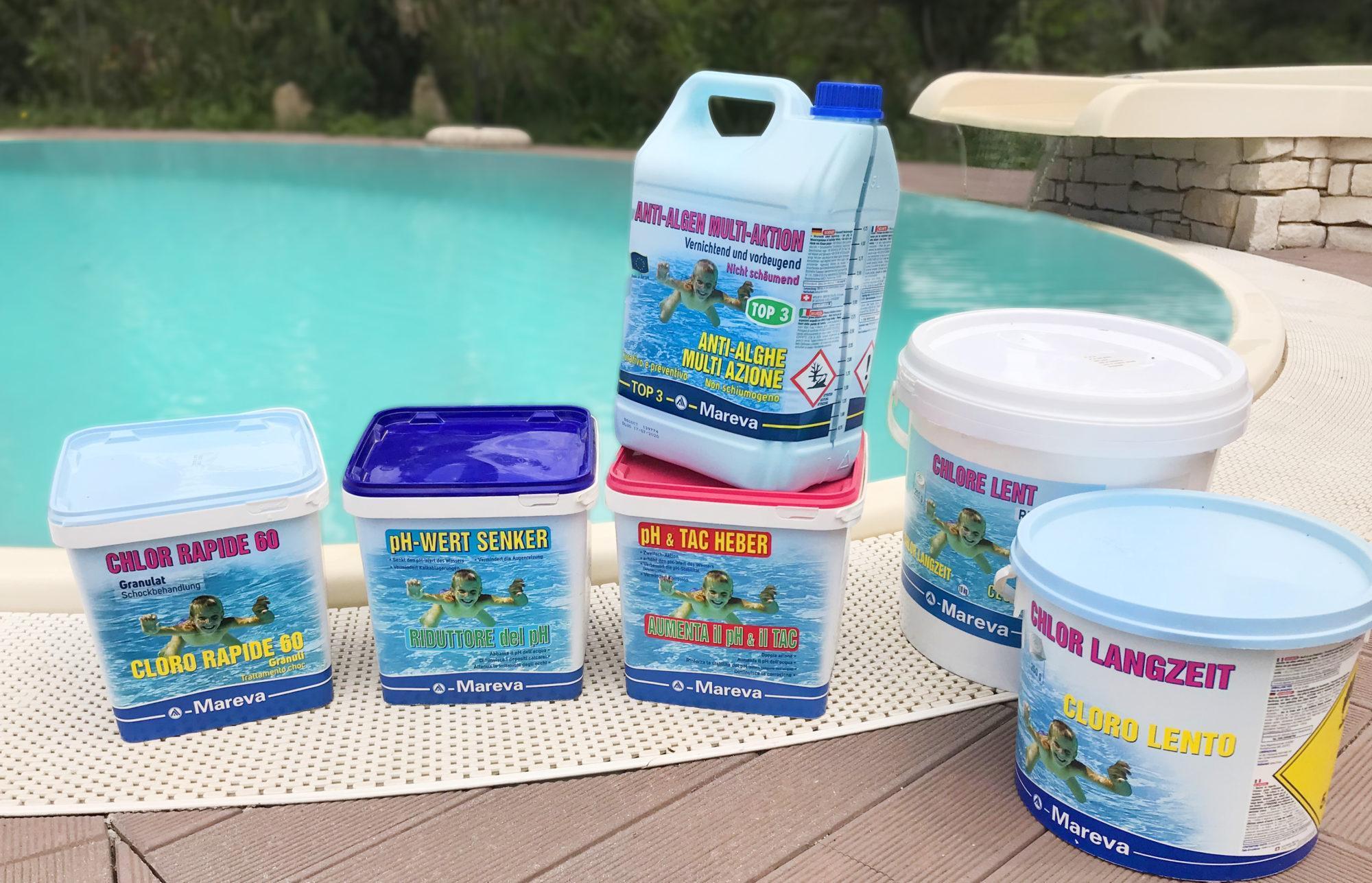 Oasi Blu Piscine Avellino - prodotti piscina