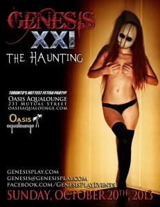 "Genesis Fetish Night ""The Haunting"" @ Oasis Aqualounge | Toronto | Ontario | Canada"