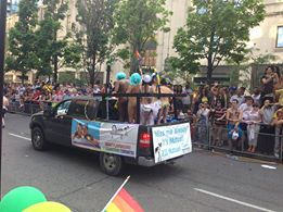 pride float #2