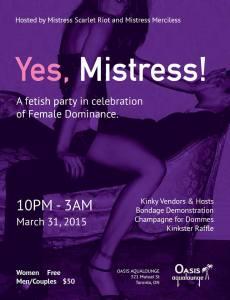 Femme Domme poster