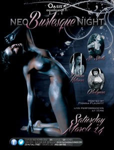 NEO BURLESQUE NIGHT - MARCH 2015 - WEB