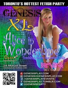 Genesis -Alice in Wonderland @ Oasis Aqualounge | Toronto | Ontario | Canada