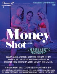 Money Shot: Live Porn & Erotic Photography