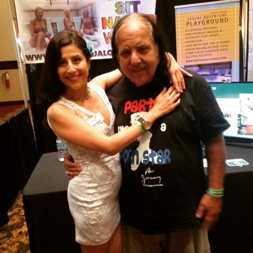 Ron Jeremy stopped by to say hi!