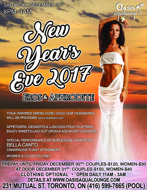 celebrate the end of a fabulous year and bring in 2017 with a bang enjoy an exciting new years eve affair with our greek god goddess theme eros