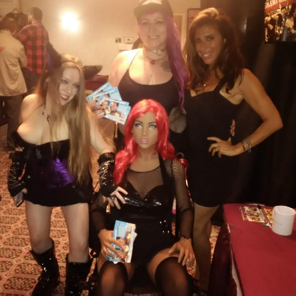 AquaBella, the AquaFlirts and horror star Felissa Rose