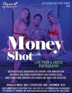 Money Shot: Live Sybian Porn Shoot