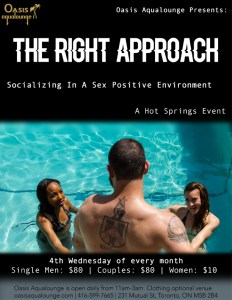 The Right Approach; Socializing In A Sex Positive Environment