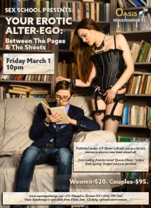 Sex School: Erotic Alter-Ego; Between the Pages & The Sheets