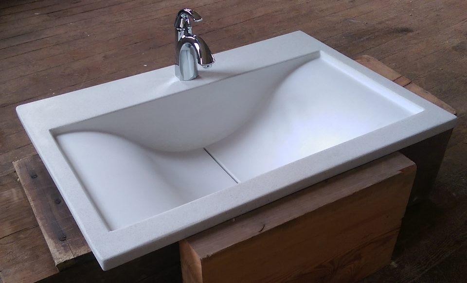 Bathroom Sinks and Vanities  OASIS Custom Concrete
