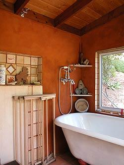 Yurt  Bath House Design Example
