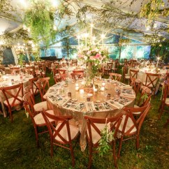 Cross Back Dining Chairs White Rental For Wedding An Enchanted Forest - Oasis Events