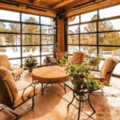 Garage Door Living Room Small Spaces Versatility Of Glass Doors