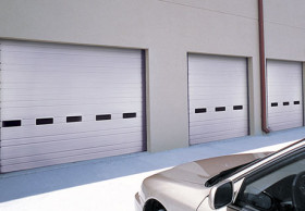 INDUSTRIAL SERIES-Ribbed Steel Doors