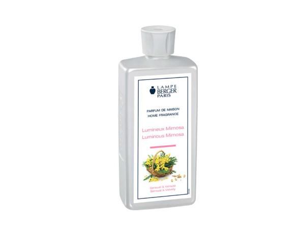 imagen perfume lumineux mimosa lampe berger