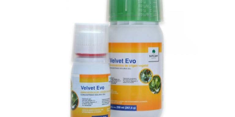 imagen aminoácidos de origen vegetal Velvet Evo 250 ml sipcam