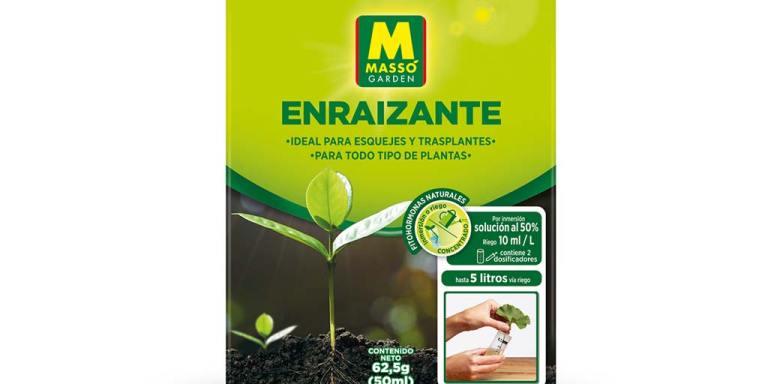 imagen Enraizante 50 ml ideal para esquejes y trasplantes Massó Garden
