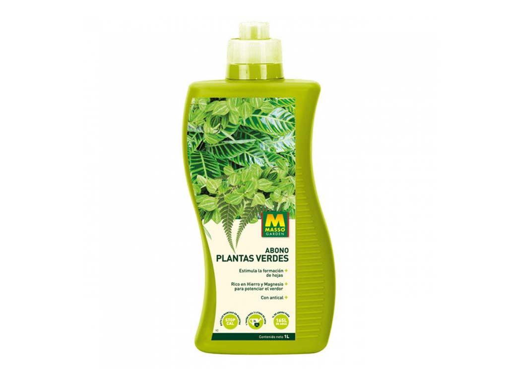 imagen Abono Plantas Verdes 1 litro Massó Garden