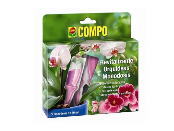 imagen Revitalizante Orquídeas monodosis 5 x 30 ml. Compo