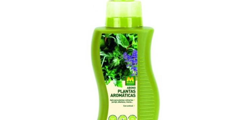 imagen abono plantas aromáticas 350 ml Massó Garden