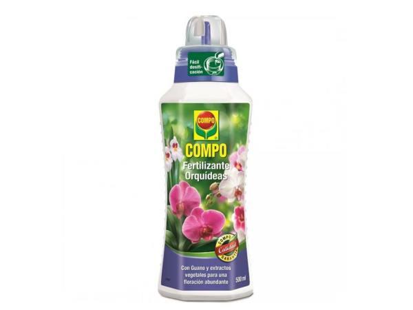imagen Fertilizante Orquídeas 500 ml Compo