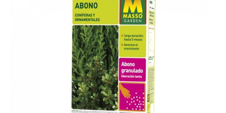imagen Abono Coníferas y Ornamentales 2 kg Massó Garden