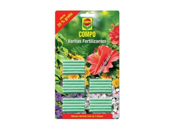 imagen varitas fertilizantes universal +25% gratis compo