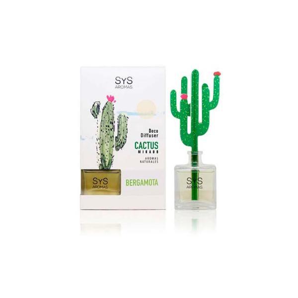 Ambientador Difusor Cactus Bergamota 90ml SyS
