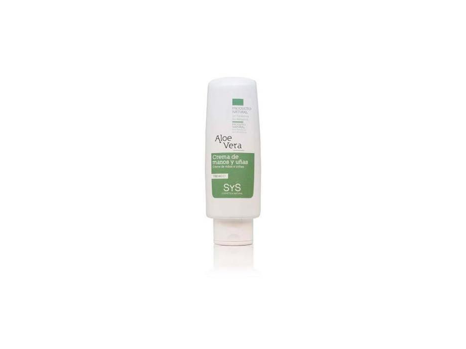 Crema Manos y Uñas Aloe Vera 150ml SyS