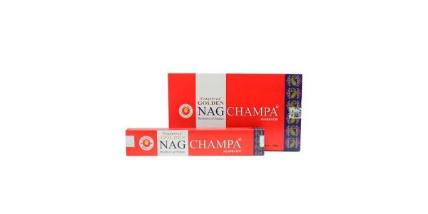 Incienso Nag Champa Golden Champa 15g SyS