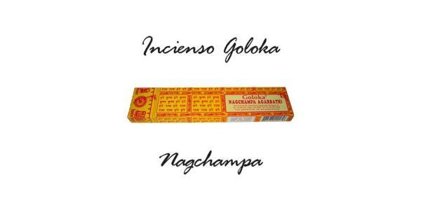 "Incienso Nag Champa ""Goloka Natures Nest"" 15g SyS"