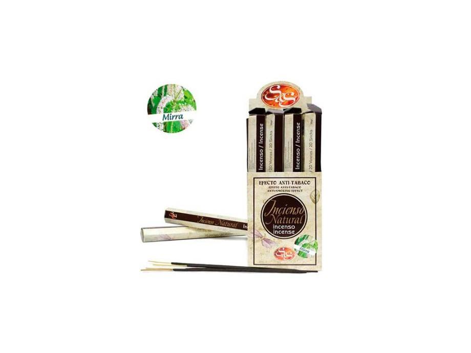 Incienso Natural 20 Sticks Mirra SyS