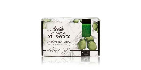 Jabón Natural Premium Aceite Oliva 100g SyS