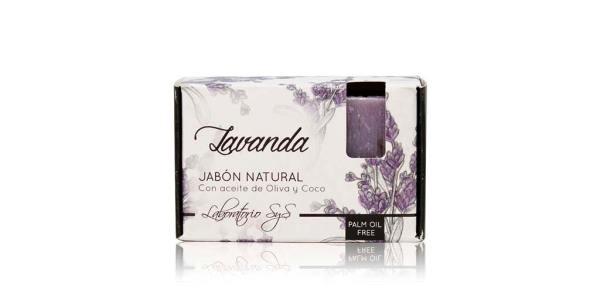 Jabón Natural Premium Lavanda 100g SyS