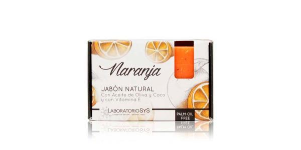 Jabón Natural Premium Naranja 100g SyS