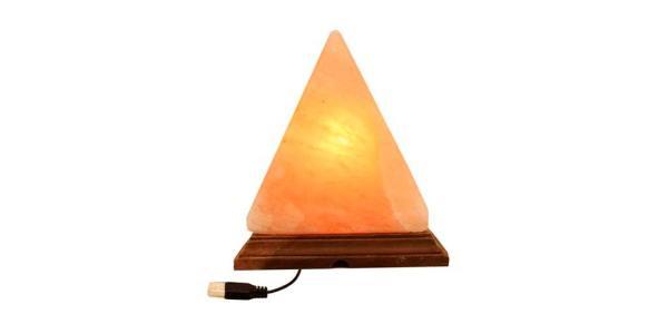 Lámpara de Sal Piramide USB SyS