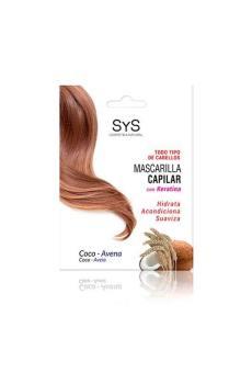 Mascarilla Capilar Coco y Avena 250ml SyS