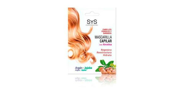 Mascarilla Capilar Argán y Jojoba 250ml SyS