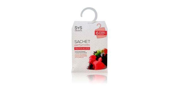 Sachet Perfumado Frutos Rojos 12g SyS