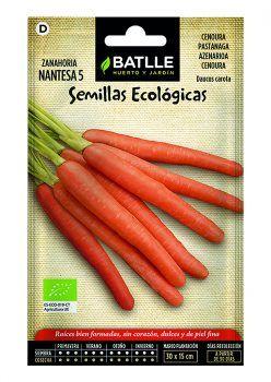 Semillas Zanahoria Nantesa ECO Batlle