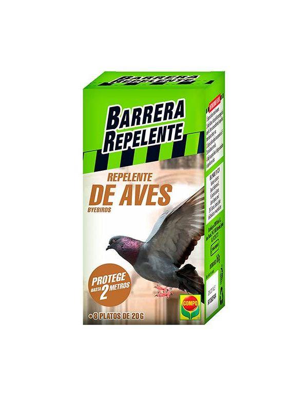Barrera Repelente de Aves 8 platos Compo
