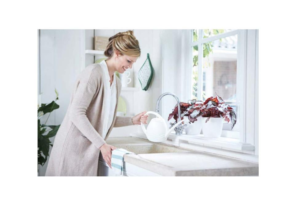 aquarius watering can 3,5 L white Elho