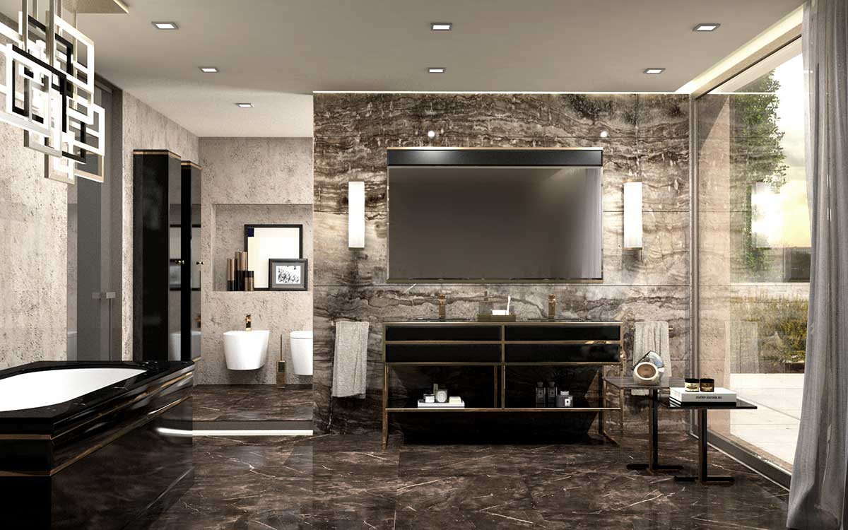 Academy Collection Of Luxury Bathroom Furniture By Oasis