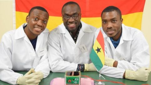 Ghana satellite development team