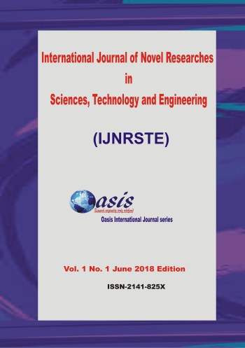 IJNRSTE Volume 1 Number 1