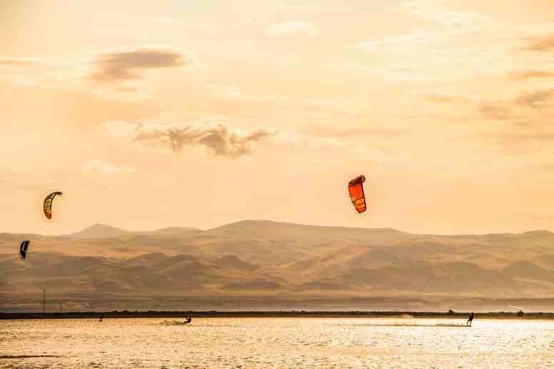 Oasis Kite Kitecamp Aserbaidschan