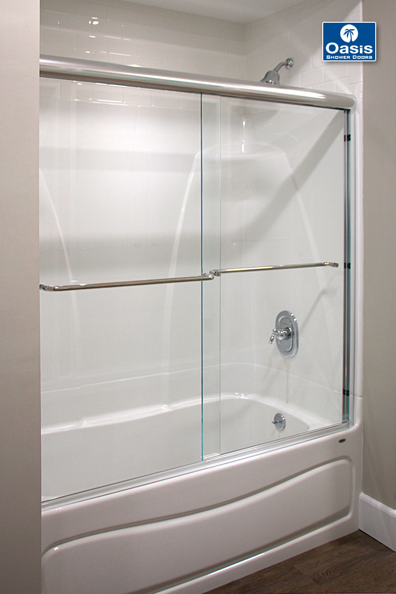 Frameless By Pass Amp Sliding Shower Doors Oasis Shower Doors Boston MA