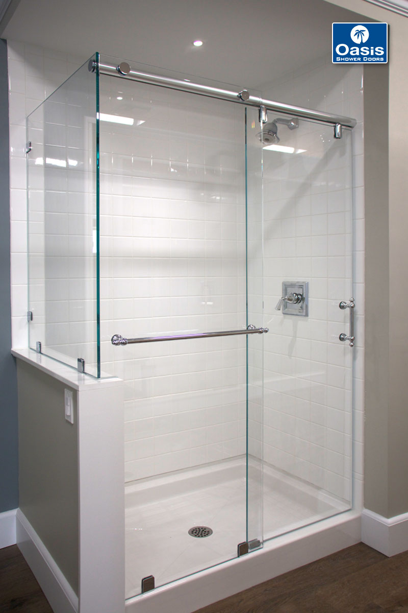Frameless Shower Enclosers Oasis Specialty Glass